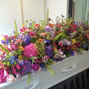 Bloemrijke Verleiding | Afscheids bloemwerk